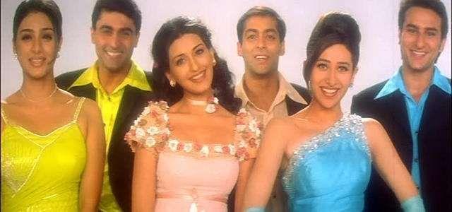 hum saath saath hain hindi musical 3 39 1 cast mohnish bahl salman    Hum Saath Saath Hain Cast